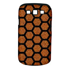 Hexagon2 Black Marble & Rusted Metal Samsung Galaxy S Iii Classic Hardshell Case (pc+silicone) by trendistuff