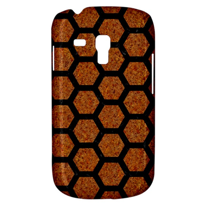 HEXAGON2 BLACK MARBLE & RUSTED METAL Galaxy S3 Mini