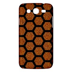 Hexagon2 Black Marble & Rusted Metal Samsung Galaxy Mega 5 8 I9152 Hardshell Case  by trendistuff