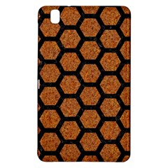 Hexagon2 Black Marble & Rusted Metal Samsung Galaxy Tab Pro 8 4 Hardshell Case by trendistuff