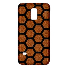 Hexagon2 Black Marble & Rusted Metal Galaxy S5 Mini by trendistuff