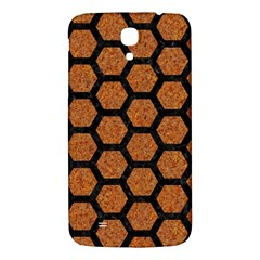 Hexagon2 Black Marble & Rusted Metal Samsung Galaxy Mega I9200 Hardshell Back Case by trendistuff