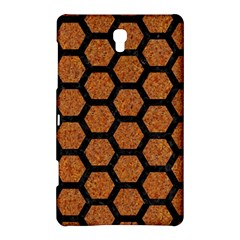Hexagon2 Black Marble & Rusted Metal Samsung Galaxy Tab S (8 4 ) Hardshell Case  by trendistuff
