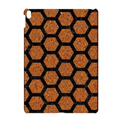 Hexagon2 Black Marble & Rusted Metal Apple Ipad Pro 10 5   Hardshell Case