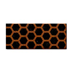 HEXAGON2 BLACK MARBLE & RUSTED METAL (R) Cosmetic Storage Cases