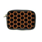 HEXAGON2 BLACK MARBLE & RUSTED METAL (R) Coin Purse Front