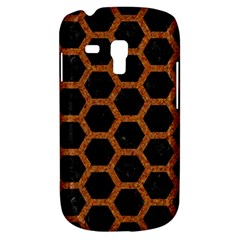 HEXAGON2 BLACK MARBLE & RUSTED METAL (R) Galaxy S3 Mini