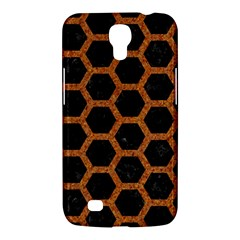 HEXAGON2 BLACK MARBLE & RUSTED METAL (R) Samsung Galaxy Mega 6.3  I9200 Hardshell Case