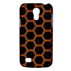 HEXAGON2 BLACK MARBLE & RUSTED METAL (R) Galaxy S4 Mini