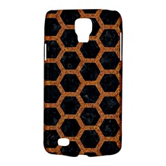 HEXAGON2 BLACK MARBLE & RUSTED METAL (R) Galaxy S4 Active