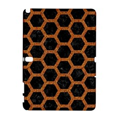 HEXAGON2 BLACK MARBLE & RUSTED METAL (R) Galaxy Note 1