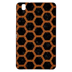 HEXAGON2 BLACK MARBLE & RUSTED METAL (R) Samsung Galaxy Tab Pro 8.4 Hardshell Case