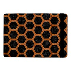 HEXAGON2 BLACK MARBLE & RUSTED METAL (R) Samsung Galaxy Tab Pro 10.1  Flip Case