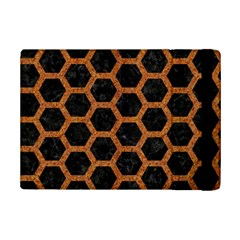 HEXAGON2 BLACK MARBLE & RUSTED METAL (R) iPad Mini 2 Flip Cases