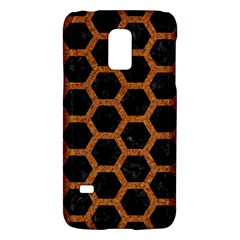 HEXAGON2 BLACK MARBLE & RUSTED METAL (R) Galaxy S5 Mini