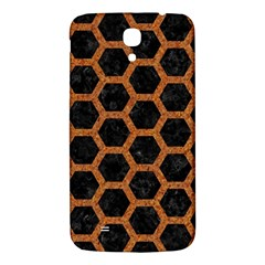 HEXAGON2 BLACK MARBLE & RUSTED METAL (R) Samsung Galaxy Mega I9200 Hardshell Back Case