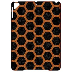 HEXAGON2 BLACK MARBLE & RUSTED METAL (R) Apple iPad Pro 9.7   Hardshell Case