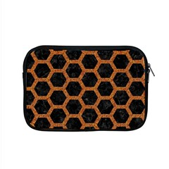 HEXAGON2 BLACK MARBLE & RUSTED METAL (R) Apple MacBook Pro 15  Zipper Case
