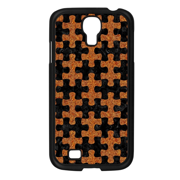 PUZZLE1 BLACK MARBLE & RUSTED METAL Samsung Galaxy S4 I9500/ I9505 Case (Black)