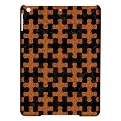 Puzzle1 Black Marble & Rusted Metal Ipad Air Hardshell Cases by trendistuff