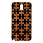 PUZZLE1 BLACK MARBLE & RUSTED METAL Samsung Galaxy Note 3 N9005 Hardshell Back Case Front