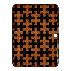 Puzzle1 Black Marble & Rusted Metal Samsung Galaxy Tab 4 (10 1 ) Hardshell Case  by trendistuff