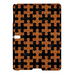 Puzzle1 Black Marble & Rusted Metal Samsung Galaxy Tab S (10 5 ) Hardshell Case  by trendistuff