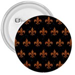 ROYAL1 BLACK MARBLE & RUSTED METAL 3  Buttons Front