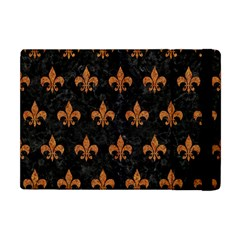 Royal1 Black Marble & Rusted Metal Apple Ipad Mini Flip Case by trendistuff