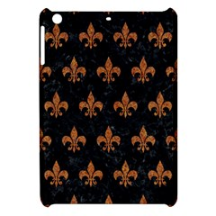 Royal1 Black Marble & Rusted Metal Apple Ipad Mini Hardshell Case by trendistuff