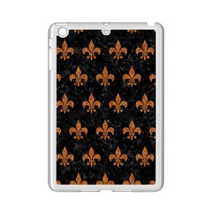 Royal1 Black Marble & Rusted Metal Ipad Mini 2 Enamel Coated Cases by trendistuff