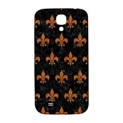 Royal1 Black Marble & Rusted Metal Samsung Galaxy S4 I9500/i9505  Hardshell Back Case by trendistuff