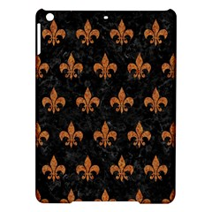 Royal1 Black Marble & Rusted Metal Ipad Air Hardshell Cases
