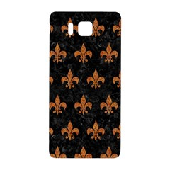 Royal1 Black Marble & Rusted Metal Samsung Galaxy Alpha Hardshell Back Case by trendistuff