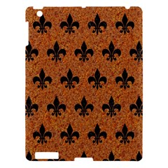 Royal1 Black Marble & Rusted Metal (r) Apple Ipad 3/4 Hardshell Case by trendistuff