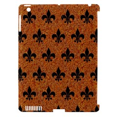 Royal1 Black Marble & Rusted Metal (r) Apple Ipad 3/4 Hardshell Case (compatible With Smart Cover) by trendistuff