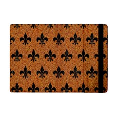 Royal1 Black Marble & Rusted Metal (r) Apple Ipad Mini Flip Case