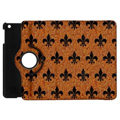 Royal1 Black Marble & Rusted Metal (r) Apple Ipad Mini Flip 360 Case by trendistuff