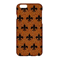 Royal1 Black Marble & Rusted Metal (r) Apple Iphone 6 Plus/6s Plus Hardshell Case by trendistuff