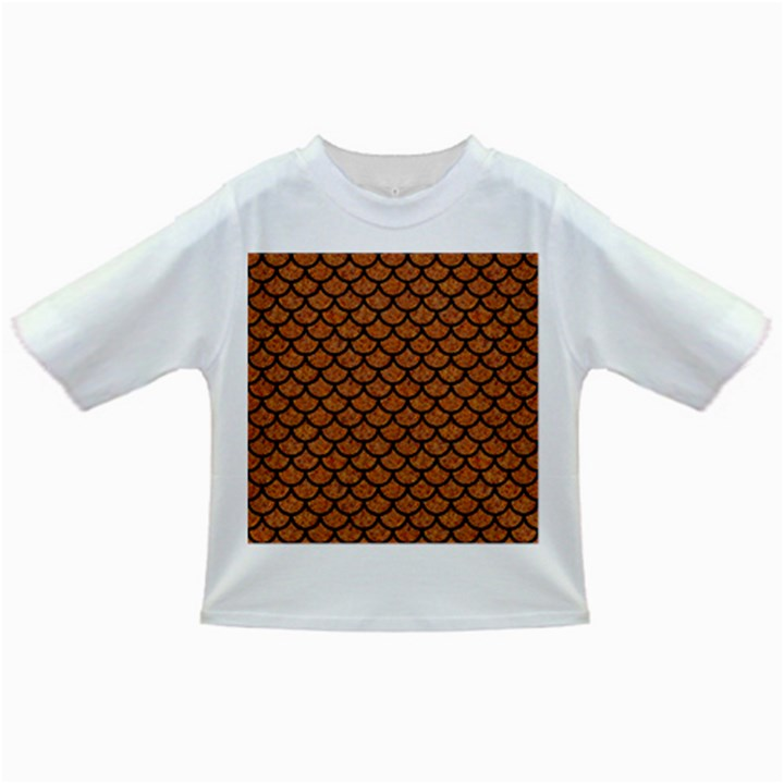 SCALES1 BLACK MARBLE & RUSTED METAL Infant/Toddler T-Shirts