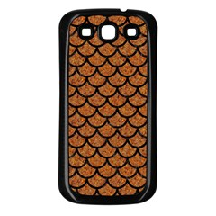Scales1 Black Marble & Rusted Metal Samsung Galaxy S3 Back Case (black) by trendistuff