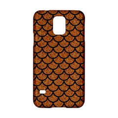 Scales1 Black Marble & Rusted Metal Samsung Galaxy S5 Hardshell Case  by trendistuff