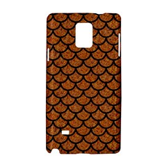 Scales1 Black Marble & Rusted Metal Samsung Galaxy Note 4 Hardshell Case by trendistuff