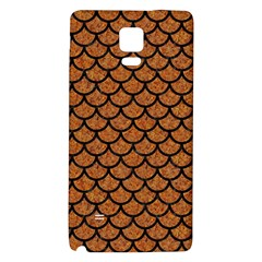 Scales1 Black Marble & Rusted Metal Galaxy Note 4 Back Case by trendistuff