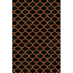 Scales1 Black Marble & Rusted Metal (r) 5 5  X 8 5  Notebooks