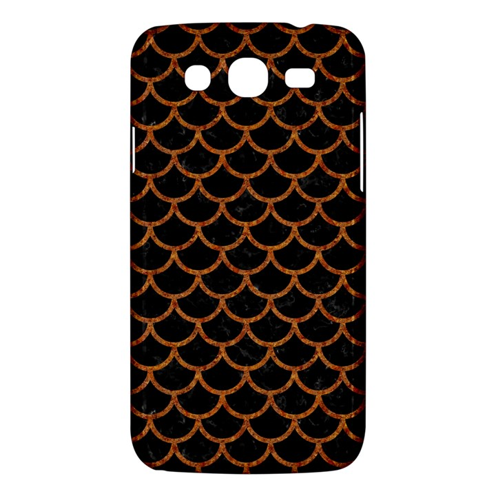 SCALES1 BLACK MARBLE & RUSTED METAL (R) Samsung Galaxy Mega 5.8 I9152 Hardshell Case