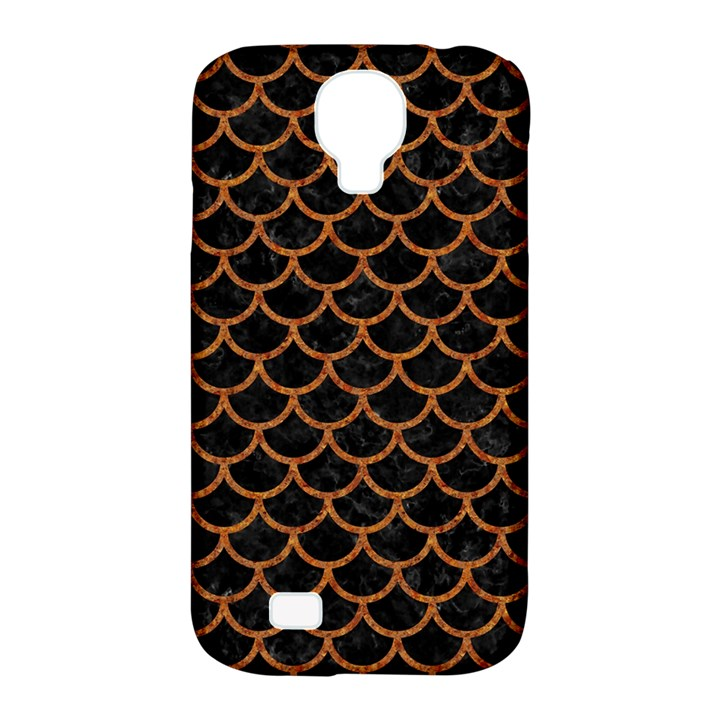 SCALES1 BLACK MARBLE & RUSTED METAL (R) Samsung Galaxy S4 Classic Hardshell Case (PC+Silicone)