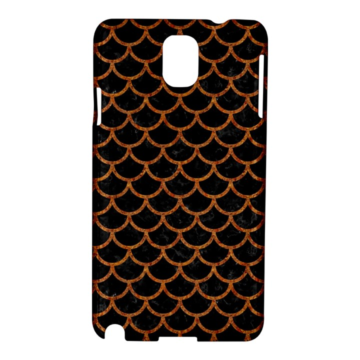 SCALES1 BLACK MARBLE & RUSTED METAL (R) Samsung Galaxy Note 3 N9005 Hardshell Case