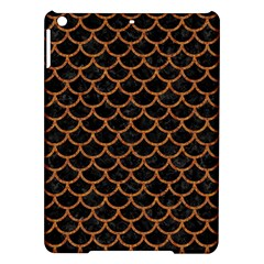 Scales1 Black Marble & Rusted Metal (r) Ipad Air Hardshell Cases by trendistuff