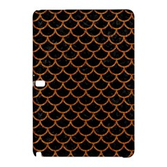 Scales1 Black Marble & Rusted Metal (r) Samsung Galaxy Tab Pro 12 2 Hardshell Case by trendistuff